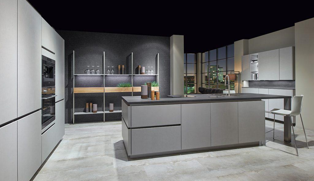 Nobilia Cemento Kitchen